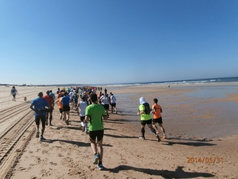 meia maratona a areia