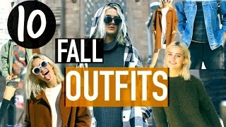 10 Cute and Easy Outfit Ideas for Fall Time! // Suede Brooks