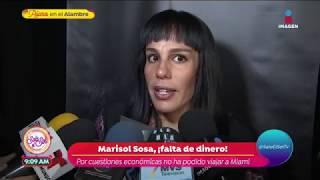 ¿Marisol Sosa abandonó a su padre, José José? | Sale el Sol
