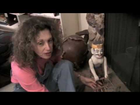Sheila's Collection of Puppets and Marionettes from Around The World