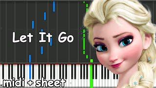 Frozen - Let It Go Piano midi