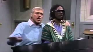 SNL's Joe Piscopo & Eddie Murphy as Stevie Wonder & Frank Sinatra