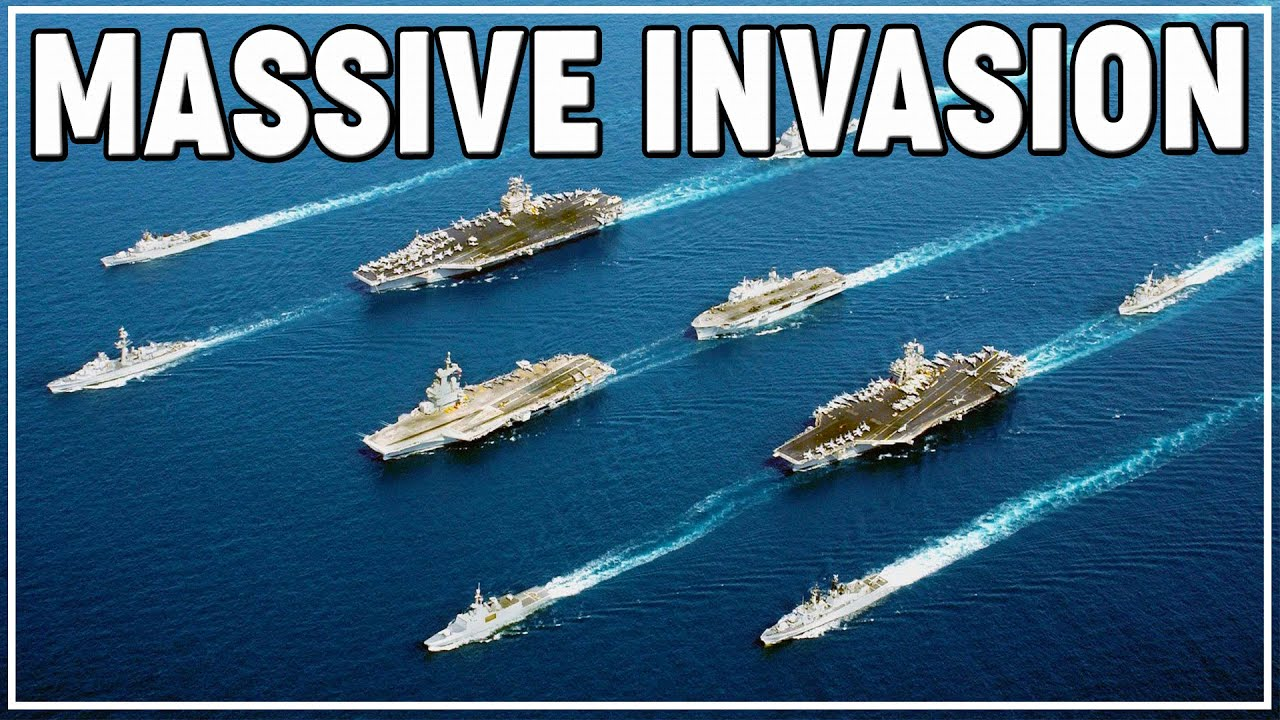 The Shermanator - ENORMOUS DECISIVE INVASION 64-Player MMORTS | Conflict of Nations | World Domination!