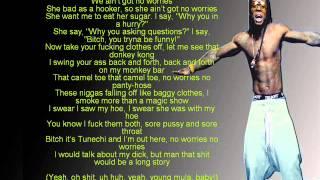 Lil Wayne - No Worries (lyrics)