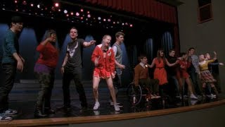 GLEE - Black Or White (Full Performance) (Official Music Video)
