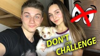 DON'T LOOK CHALLENGE   Duckie VS DATEL !