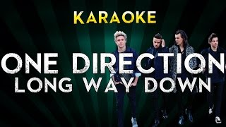 One Direction - Long Way Down | Official Karaoke Instrumental Lyrics Cover Sing Along