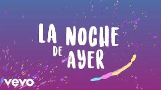 URBAND - La Noche de Ayer (Lyric Video)