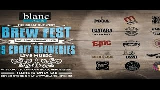The Great Out West Brew Fest 2015 at Blanc