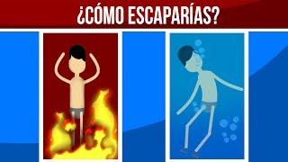 ¿CÓMO ESCAPARÍAS A LA MUERTE? - ACERTIJOS IMPOSIBLES