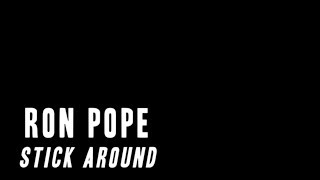 Ron Pope - Stick Around (Official Lyric Video)