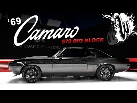 Classic '69 Camaro 572 BIG BLOCK on LEXANI WHEELS (West Coast Customs)