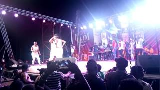 Sidney, kwaku Manu and Yaa Pono PERFORMING LIVE AT Valco Hall on ucc campus