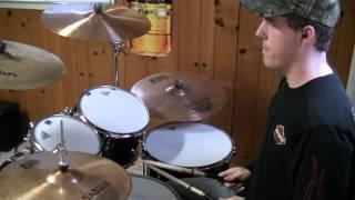 """RANDY HOUSER """"Runnin' Outta Moonlight"""" (Drum Cover)"""