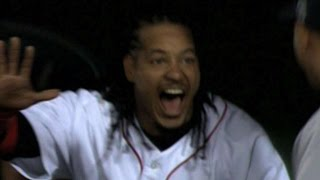 Red Sox homer four straight times