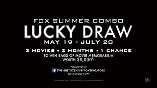 Fox Summer Combo LUCKY DRAW [May 19 - July 20, 2016]