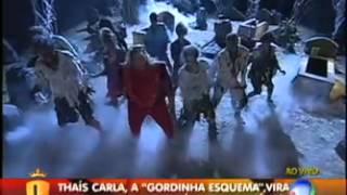 Thaís Carla Dança  Michael Jackson (Thriller)-  Legendários 18/08/2012
