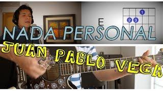 Nada Personal Juan Pablo Vega Tutorial Cover - Acordes [Mauro Martinez]