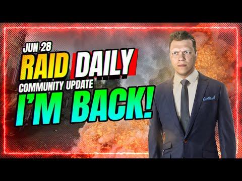 💥 I'M BACK! WEEKLY KICKOFF! CvC Tomorrow! | RAID Shadow Legends