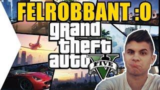 Grand Theft Auto V. - CHEATELNI KIRÁLY!!! FELROBBANT :O