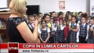 Copii în lumea cărţilor - www.1tvbacau.ro (16.06.2014)