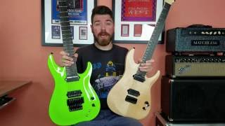 Schecter KM7 MKI MKII and FR S Quick Overview