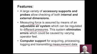 mod12lec1-Universal measuring machine (UMM) and Coordinate measuring machine (CMM)