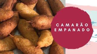 Camarão empanado - Colocando Fogo Na Cozinha