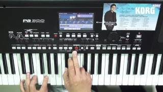 KORG Pa300 - NEW INDONESIAN VERSION Review by Agus Julianto (Part 2)