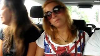no carro da Dil - musica alemanha!!! rumo a Hampton court