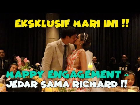 Download Video EKSKLUSIF ROMANTISNYA TUNANGAN JESSICA ISKANDAR AND RICHARD KYLE !!