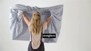 How To Fold A Fitted Sheet | Linen House