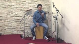 mi corazon te canta cover percusión de jesus adrián romero