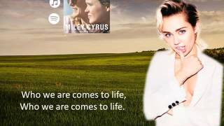 Hands Of Love - Miley Cyrus (Lyrics)