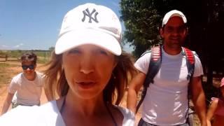Aventura na Cachoeira de Agudos