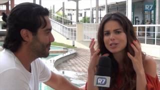 Sthefany Brito fala sobre Nitócris e a parceria com o irmão em O Rico e Lázaro