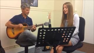 Olivia Garcia - Underdog by Kasabian (Kelly Rowland Acoustic Version)