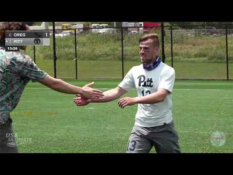 Video Thumbnail: 2019 College Championships, Men's Pool Play: Oregon vs. Pittsburgh
