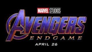 NEW Avengers 4 Endgame Logo Reveals Major Plot Points