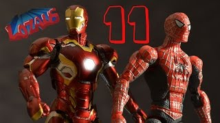 SPIDERMAN STOP MOTION Action Video PART 11
