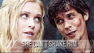► Bellamy and Clarke | She can't shake him