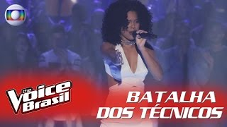 Kassia Marvila canta 'I Have Nothing' na Batalha dos Técnicos – 'The Voice Brasil' | 5ª Temporada