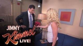Britney Spears and Jimmy Kimmel Get Tattoos