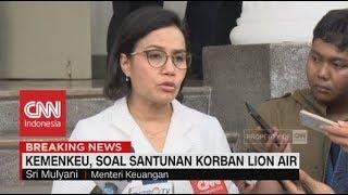 Kemenkeu, Soal Santunan Korban Lion Air