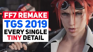Every Major/Minor Detail: Final Fantasy 7 Remake TGS 2019 Trailer Analysis