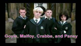Gryffindor, Hufflepuff, Ravenclaw, &Slytherin