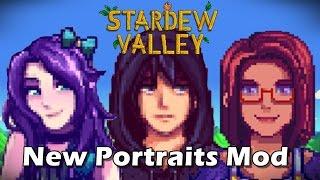 Stardew Valley Mods: Portrait Overhaul Mods (Gone Sexual!?) wat