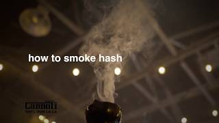 How to Smoke Hash in a Hookah