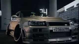 Nissan Skyline GT-R R34 Sedan.