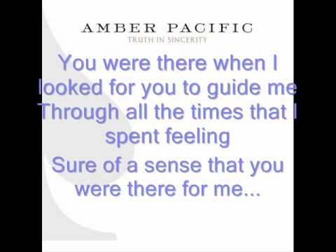 Watching Over Me de Amber Pacific Letra y Video